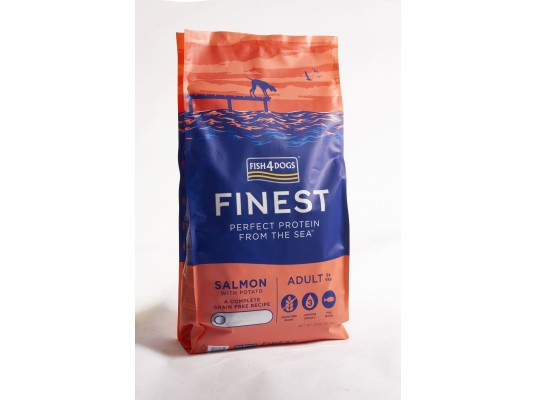 Fish4Dogs - Salmon Complete - Losos - 6kg