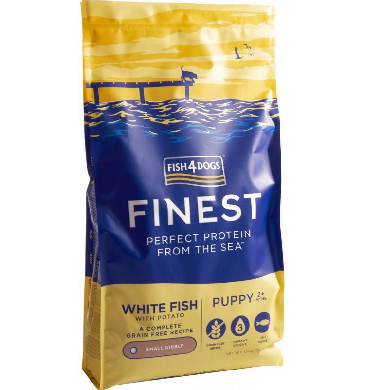 Fish4Dogs - Fish Puppy - Ryba - Veľké granulky - 1.5kg