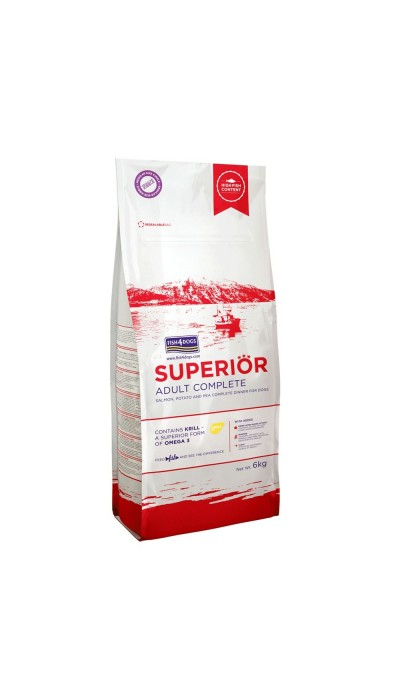 Fish4Dogs - Superior Adult Complete - Losos - 12kg