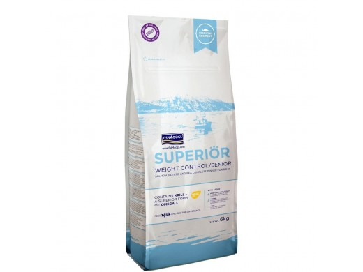 Fish4Dogs - Superior Weight Control - Losos - 12kg