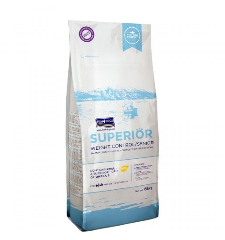 Fish4Dogs - Superior Weight Control - Losos - 1,5kg