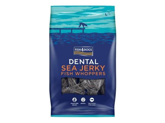 Fish4Dogs - Sea Jerky  - Whoppers - Veľké kúsky - 500g