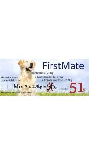 FirstMate - Blueberries + Potato and Fish + Australian - 3 x 2,3kg