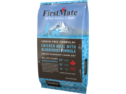 FirstMate - Chicken & Blueberries and Potato  13kg