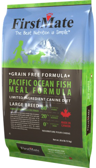 FirstMate - Pacific Ocean Fish and Potato  Large Breed 13 kg